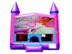 Princess and the Frog Pink Purple Castle