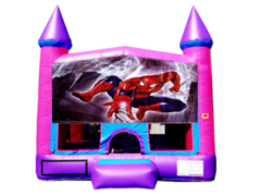 Spiderman Pink Purple Castle