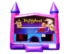 Tangled Pink Purple Castle
