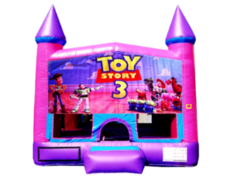 Toy Story Pink Purple Castle