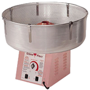A Cotton Candy Machine w/ 1 FREE flavor (35 Servings)