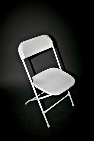 Folding Chairs - White