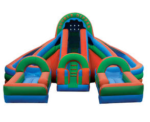 18 ft Double Dipper Waterslide