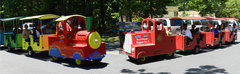 Trackless Train & Fire Truck