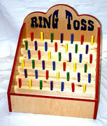 Ring Toss Wooden Table Top Game