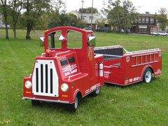 Trackless Fire Truck