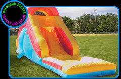 Super Dooper Water Slide (Wet)