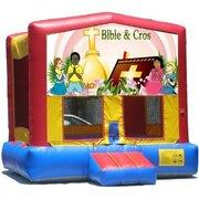Bible And Cross Bounce