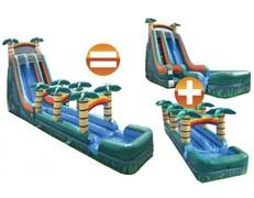 Tsunami Dual Lane Waterslide 24'