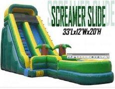 Screamer Slide 20'  (Wet)