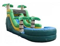 Tropical Backyard Slide (Wet)