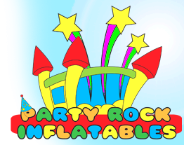 Party Rock Inflatables Logo