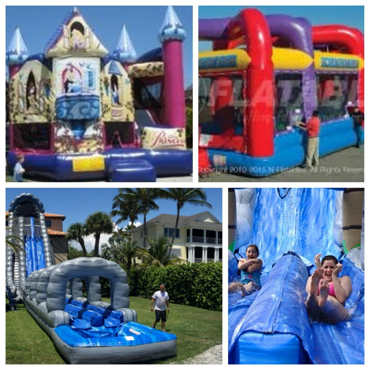 Inflatable Water Slide Port Macquarie: Sarasota Bounce House & Party Rentals
