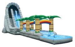 32' Roaring River water slide with slip n slide