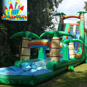 27' Tropical water slide with slip n slide