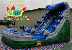 17' Perfect Storm Water Slide