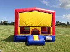 13x13 bounce house available in different themes