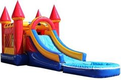Castle Bounce & Slide WET