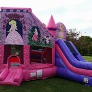 Princess Bounce with Slide