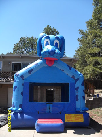 Terrific Inflatable Dog Bounce House Rentals Partycentralflagstaff Home Interior And Landscaping Spoatsignezvosmurscom