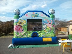 Spongebob & Friends Bounce House