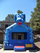 Blue Dog Bounce House