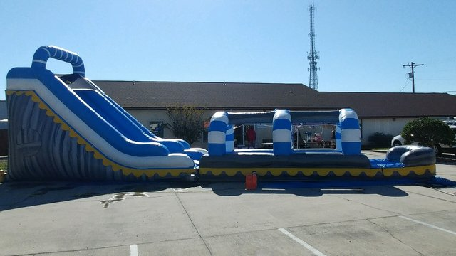 Skyline with 26 ft. slip 'n' slide extension