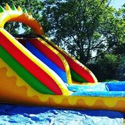 14ft dinosaur water slide
