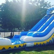 18 ft skyline water slide with pool. Wet or dry.