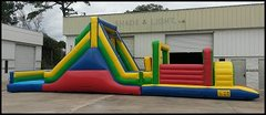 53' Challenger Obstacle with Slide