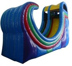 22FT Rampage Half Pipe Waterslide