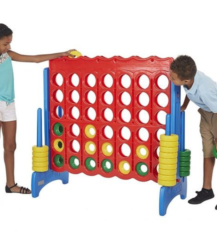 Giant Connect-4- Yard Game