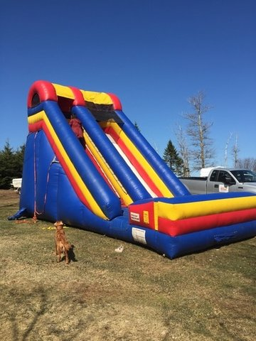 22ft Screamer Slide (Dry)