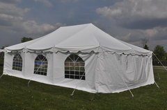 20x30 Tent with Enclosure