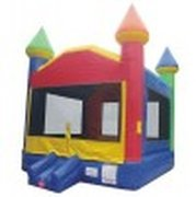 Giant Standard Rainbow Bounce House