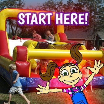 Marvelous Pensacola Inflatable Rentals And Bounce House Party Rental Beutiful Home Inspiration Xortanetmahrainfo