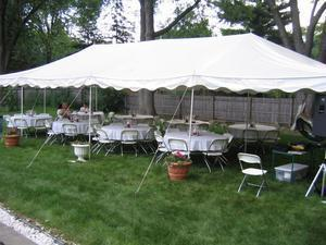 20 x 40 Pole Tent (Not Installed)