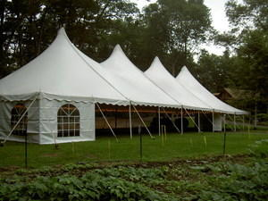 40' x 40'  Victorian Pole Tent