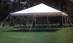 20 x 20 Pole Tent (Not Installed)