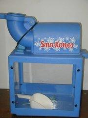 Snowcone Machine w/ Supplies for 50.