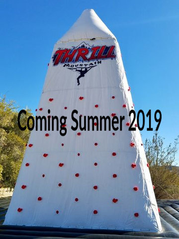 Thrill Mountain Rock Climbing Wall - Coming Summer 2019!