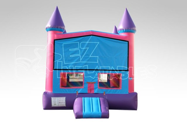 Purple Castle Bounce House