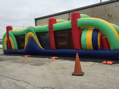 37 Foot Obstacle Course Game