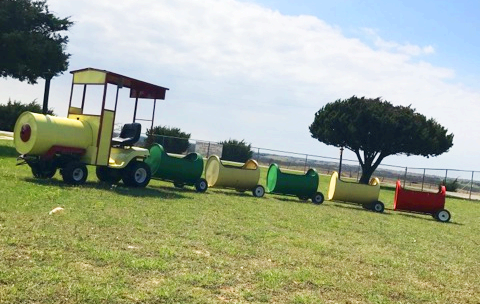 Cleburne TX Trackless Train Rental
