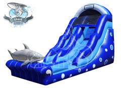 18' Jaws Waterslide with Pool