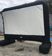 Movie S Movie Screen Only Inflated 12' 5'x9' viewable 1MS