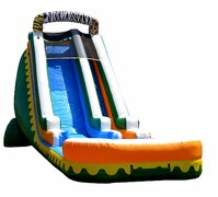 18' Jungle Zoo Inflatable Water Slide  Delivery only 1C