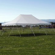 Canopy 20x30 GRASS ONLY d Stand up room for 150, Chairs for Approx 60