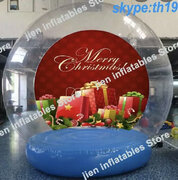 Snow Globe photo booth  10 foot Holiday photo prop
