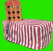 Carnival Table Cover fits 6 Foot Table